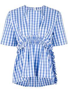 блузка с оборками MSGM