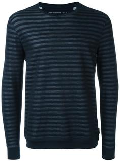 striped sweater John Varvatos