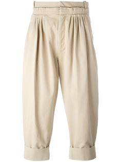 укороченные брюки со складками спереди J.W.Anderson