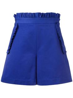 шорты с оборками MSGM