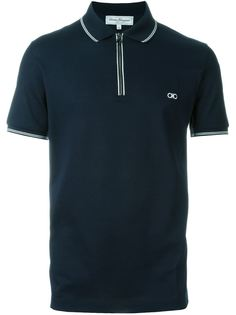 рубашка-поло с застежкой-молнией Salvatore Ferragamo