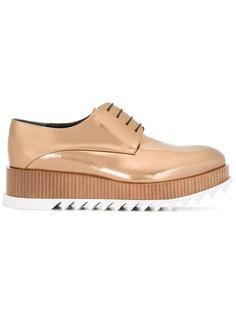 platform lace-up shoes Jil Sander