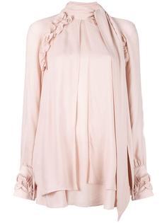 блузка с рюшами Frejan Iro