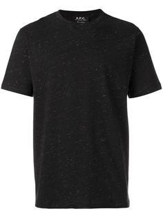 базовая футболка A.P.C.