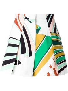 шорты с абстрактным принтом Emilio Pucci