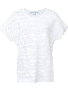 трикотажная футболка Diane Von Furstenberg