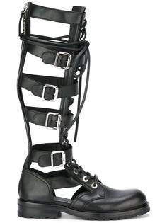 гладиаторские ботинки  Diesel Black Gold