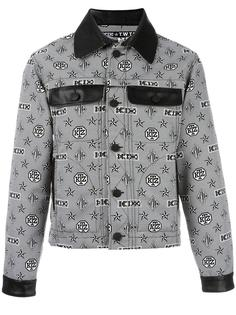 monogram print shirt jacket KTZ