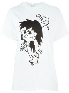 футболка с принтом анимационного персонажа Aries