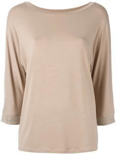 beaded sleeve blouse Steffen Schraut