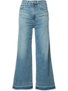 укороченные расклешенные брюки Ag Jeans