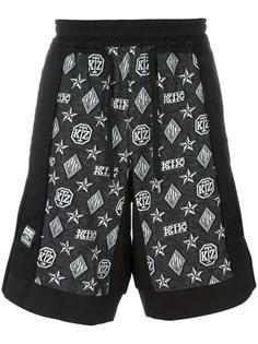 шорты с монограммой Inside Out KTZ