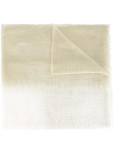 frayed edge scarf Suzusan