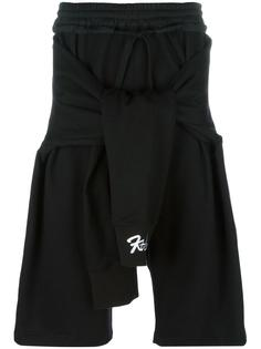 tied up shorts KTZ