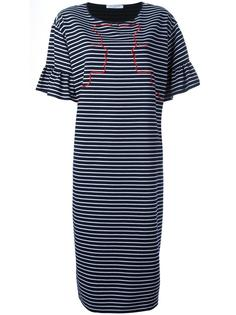 embroidered striped dress Vivetta