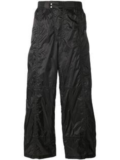 широкие брюки Diesel Black Gold