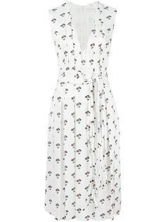 floral print dress Victoria Beckham