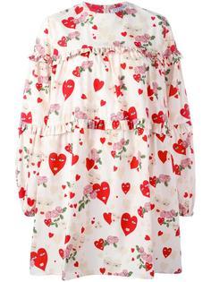 heart print dress Vivetta