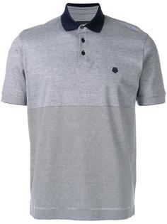 полосатая рубашка-поло Z Zegna