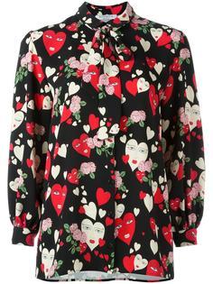 heart print shirt Vivetta