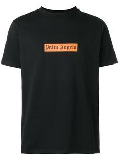 футболка свободного кроя с логотипом Palm Angels