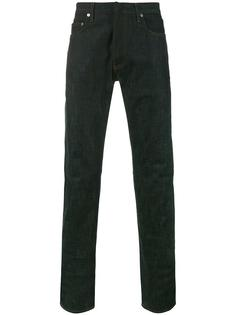 джинсы с необработанными краями   Dior Homme