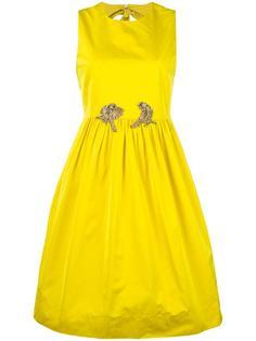 sleeveless flared dress Nº21