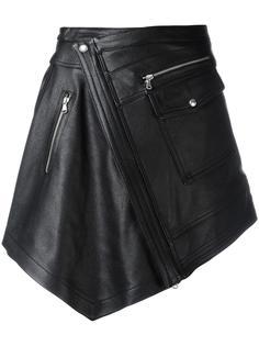 асимметричная юбка с запахом Diesel Black Gold
