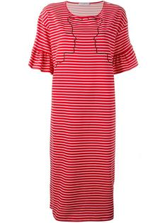 embroidered striped dress Vivetta