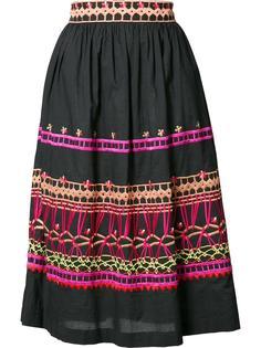 юбка с вышивкой Temperley London