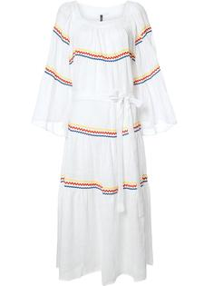 платье с зигзагообразным узором Lisa Marie Fernandez