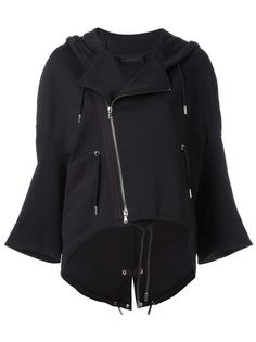 байкерская куртка с капюшоном Diesel Black Gold