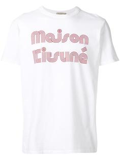 retro logo T-shirt Maison Kitsuné