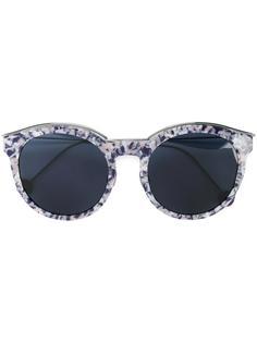 солнцезащитные очки в пестрой оправе Dior Eyewear