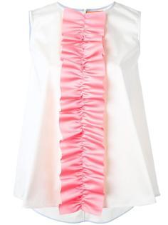 Ruffle Detail sleeveless top Paskal
