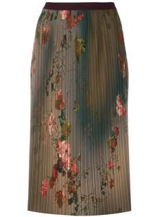 плиссированная юбка с цветочным узором Antonio Marras