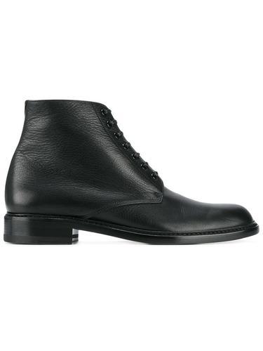 кожаные ботинки-дерби на шнуровке Saint Laurent