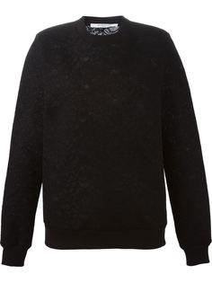 свитер с цветочным кружевом Givenchy