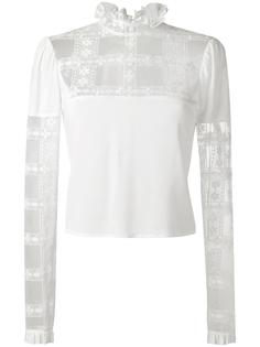 блузка с вышивкой Giamba