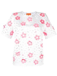 Cut-out Floral top Paskal