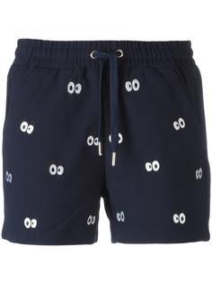 спортивные шорты с нашивками Eyes Zoe Karssen