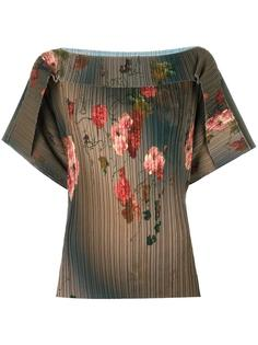 блузка с цветочным узором Antonio Marras