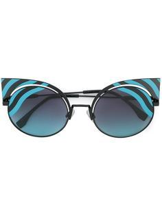 солнцезащитные очки Hypnoshine в оправе кошачий глаз Fendi