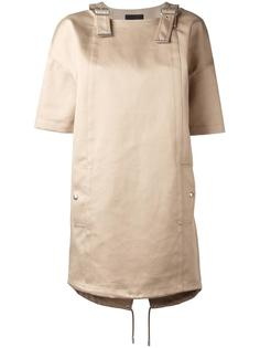 платье-футболка с ремешками на плечах Diesel Black Gold