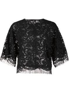 кружевная блузка Adam Lippes