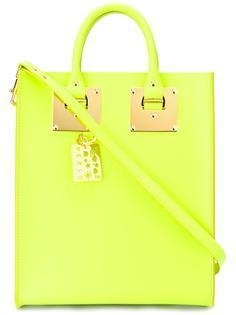 прямоугольная сумка-тоут с двумя ручками Sophie Hulme