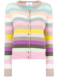 striped cardigan Allude