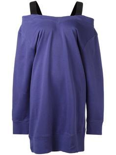 платье-толстовка с удлиненными рукавами Mm6 Maison Margiela
