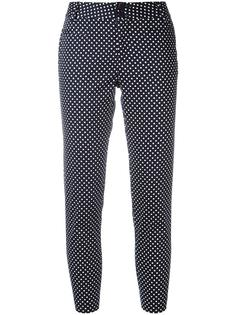 polka dot cropped trousers Steffen Schraut