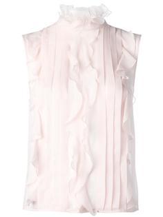 блузка с оборками Giambattista Valli